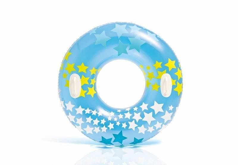 Modrý nafukovací kruh INTEX