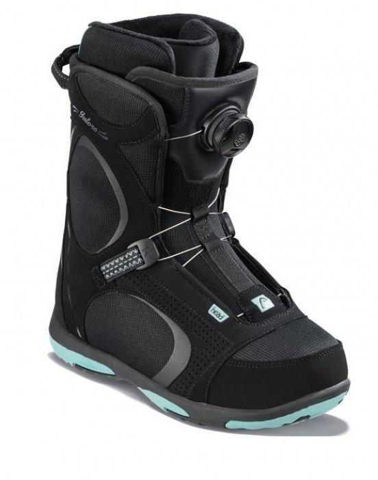 Černé dámské boty na snowboard Head - velikost 42 EU