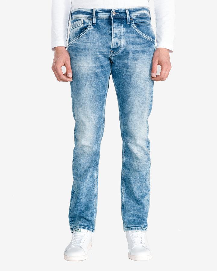 Modré pánské džíny Pepe Jeans