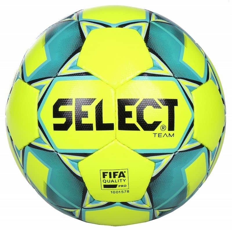Fotbalový míč - Select Team FIFA barva: bílá-modrá;velikost míče: č. 5