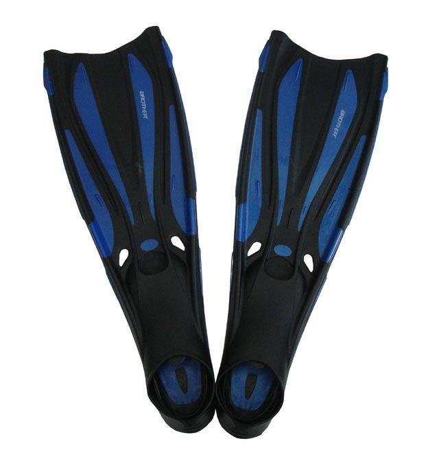 Černo-modré dlouhé potápěčské ploutve Brother
