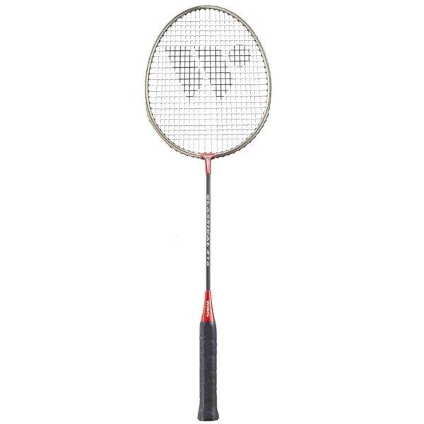 Červená raketa na badminton Wish - délka 66,5 cm