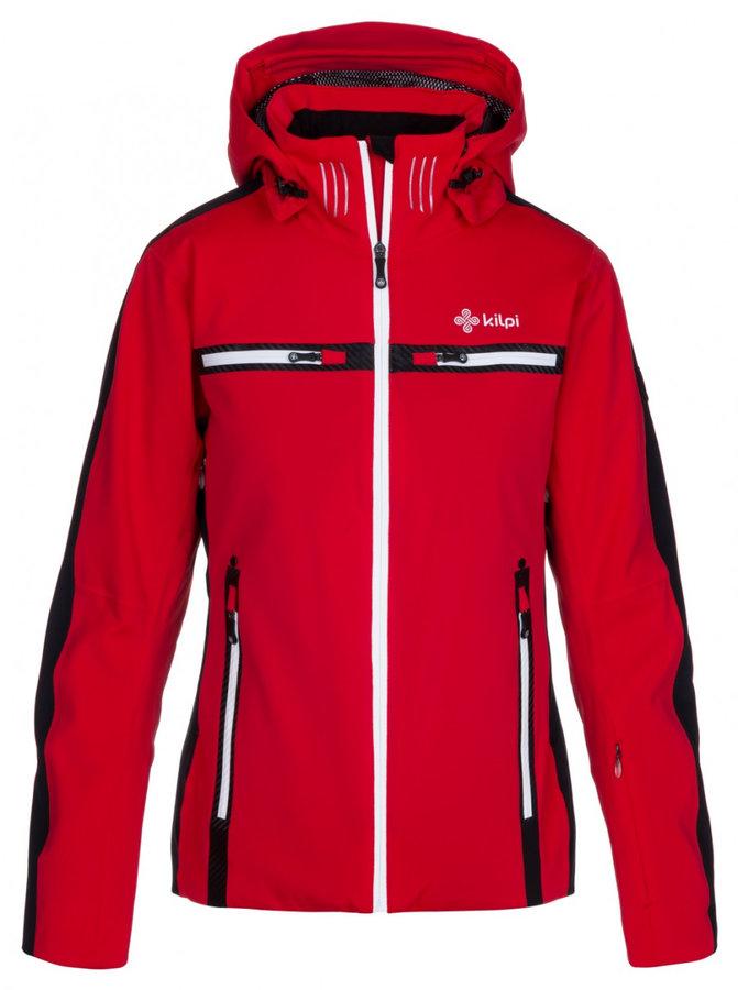 Červená zimní dámská bunda Kilpi - velikost XL