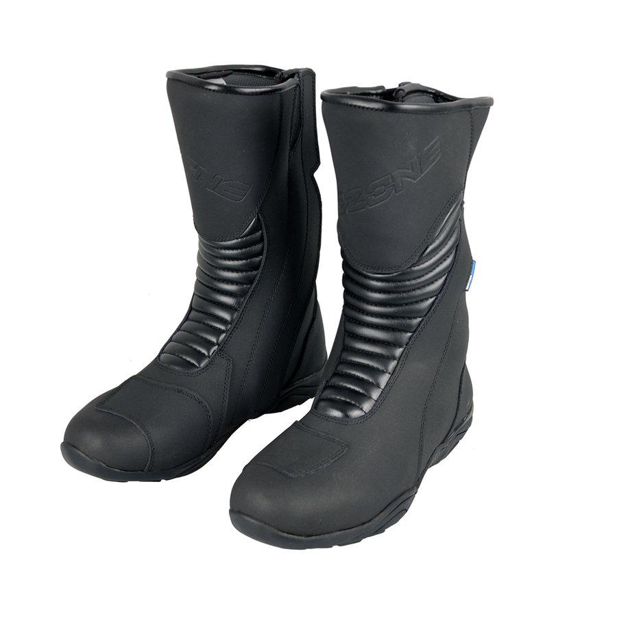 Černé vysoké pánské motorkářské boty MOTO III, Ozone - velikost 46 EU