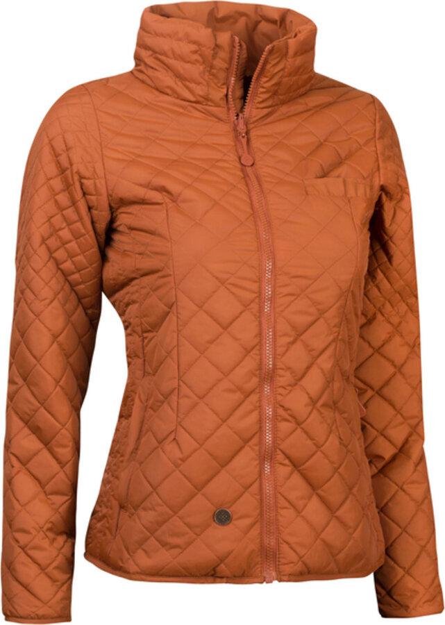 Oranžová zimní dámská bunda Woox