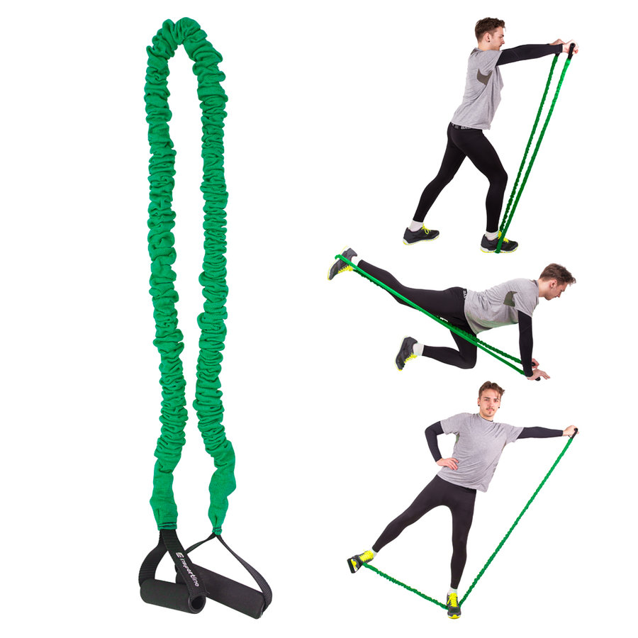 Posilovací guma inSPORTline - délka 130 cm