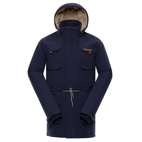 Modrý pánský kabát Alpine Pro - velikost XXL