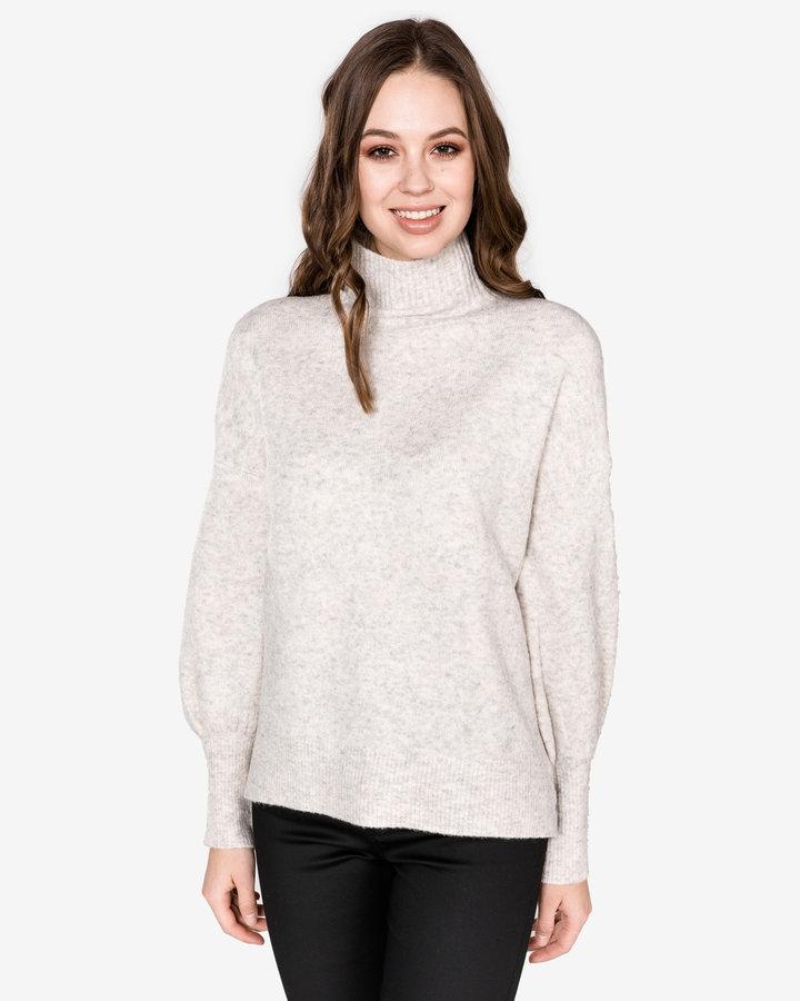 Bílý dámský svetr French Connection - velikost L