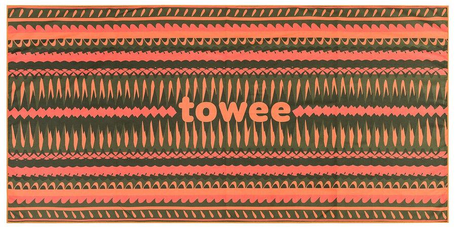 Ručník - Rychleschnoucí ručník Towee Apricot 70 x 140 cm