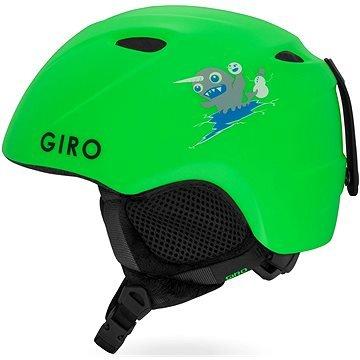 Zelená dětská lyžařská helma Giro