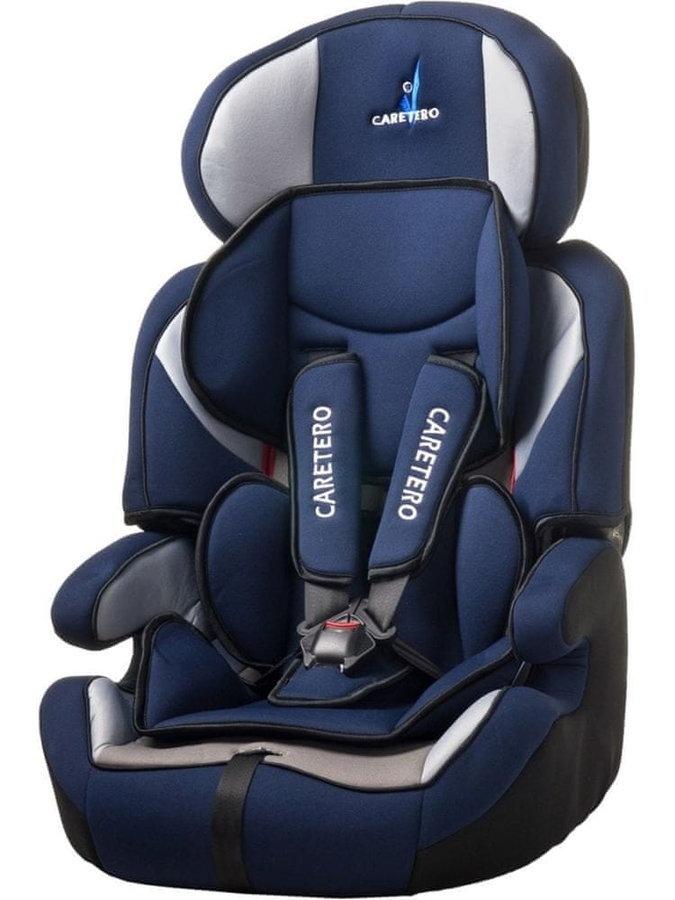 Modrá dětská autosedačka Falcon, Caretero - nosnost 36 kg
