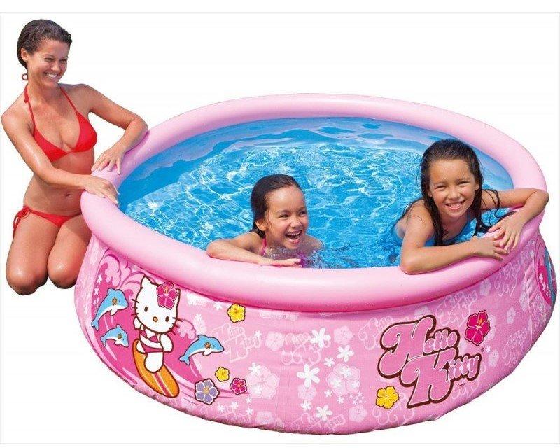Nafukovací nadzemní dětský kruhový bazén INTEX - průměr 183 cm a výška 51 cm