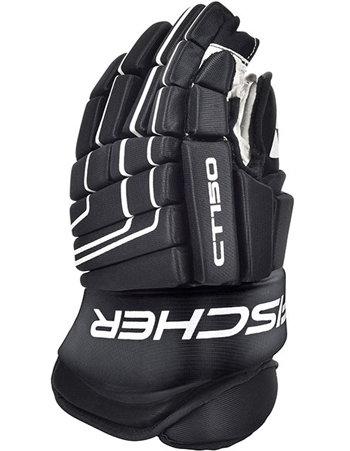 Černé hokejové rukavice CT150, Fischer