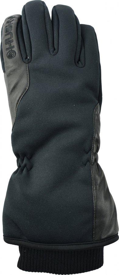 Černé dámské lyžařské rukavice Husky - velikost S