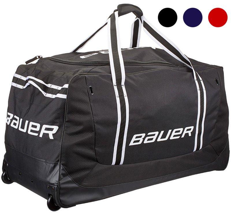 Hokejová taška - Taška Bauer 650 Wheel Bag Medium Junior Barva: červená