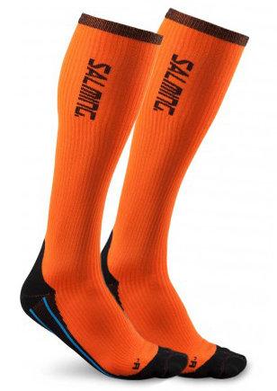 Oranžové unisex hokejové ponožky Salming