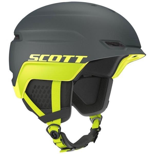Šedá lyžařská helma Scott - velikost L