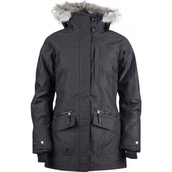 Černý zimní dámský kabát Columbia