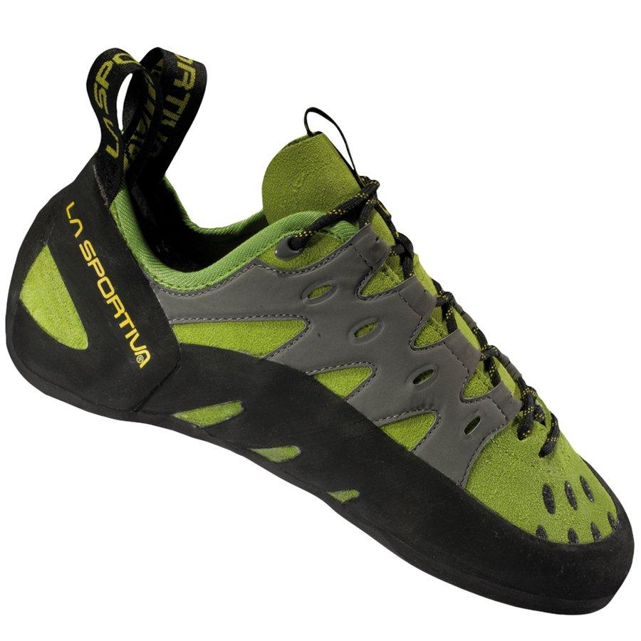 Černo-zelené pánské lezečky Tarantulace, La Sportiva - velikost 47 EU