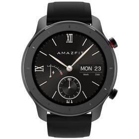 Černé chytré hodinky Amazfit GTR, Xiaomi