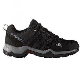 Černé dětské trekové boty Adidas