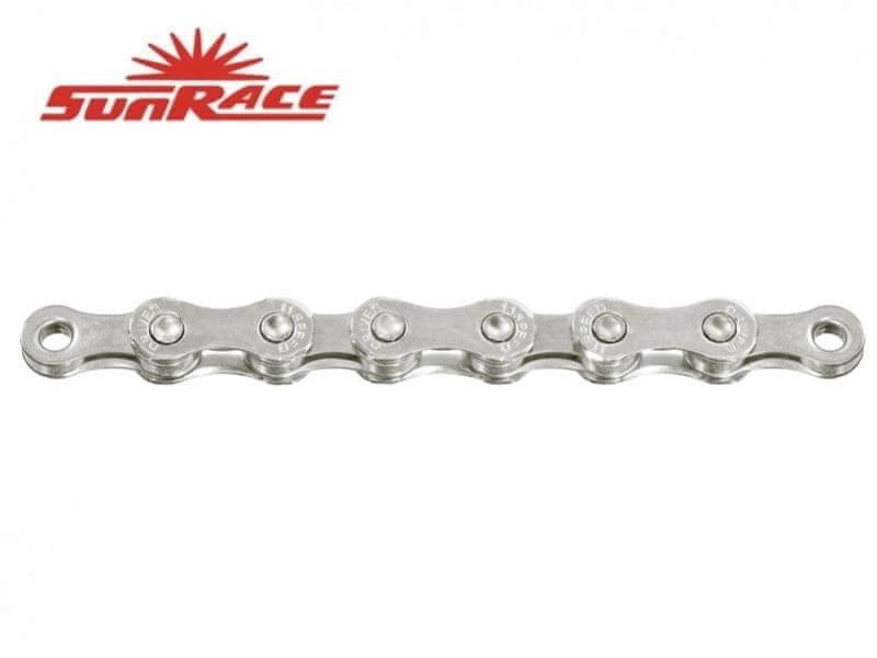 Řetěz na kolo - Sunrace řetěz CN11A 11k 116čl. stříbrný