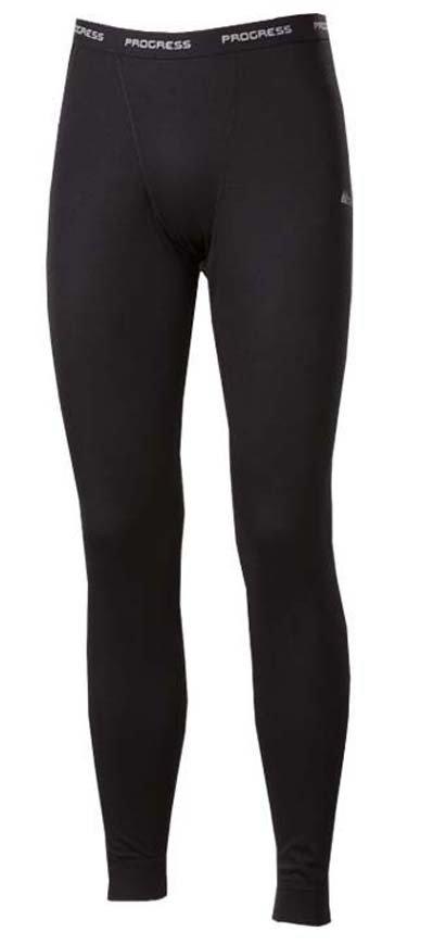Černé pánské funkční kalhoty Progress - velikost XL