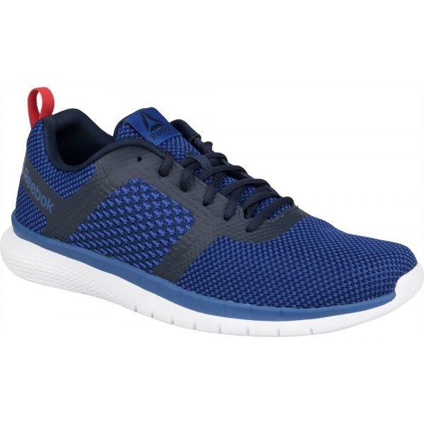 Modré pánské běžecké boty Reebok - velikost 44,5 EU