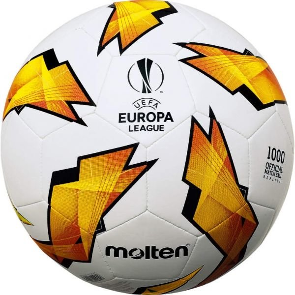 Bílo-oranžový fotbalový míč Molten