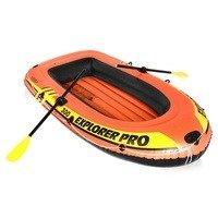 Oranžový nafukovací člun pro 3 osoby Explorer Pro 300, INTEX