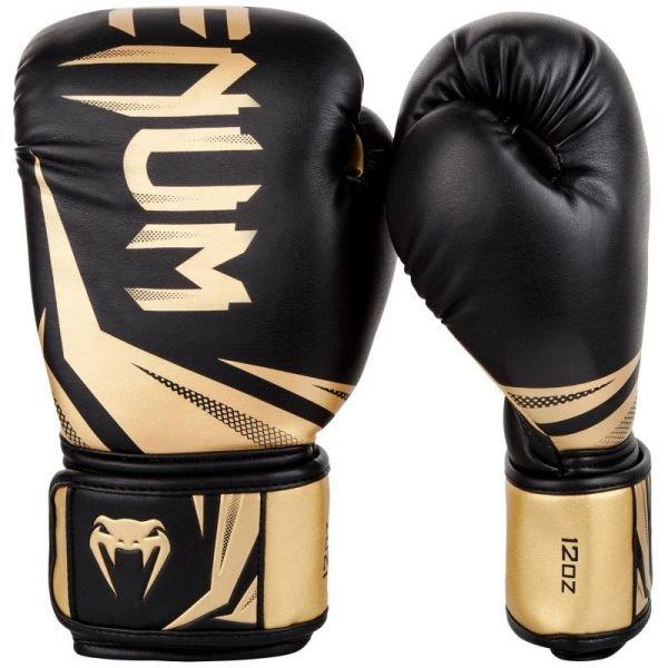 Černo-zlaté boxerské rukavice Venum - velikost 14 oz