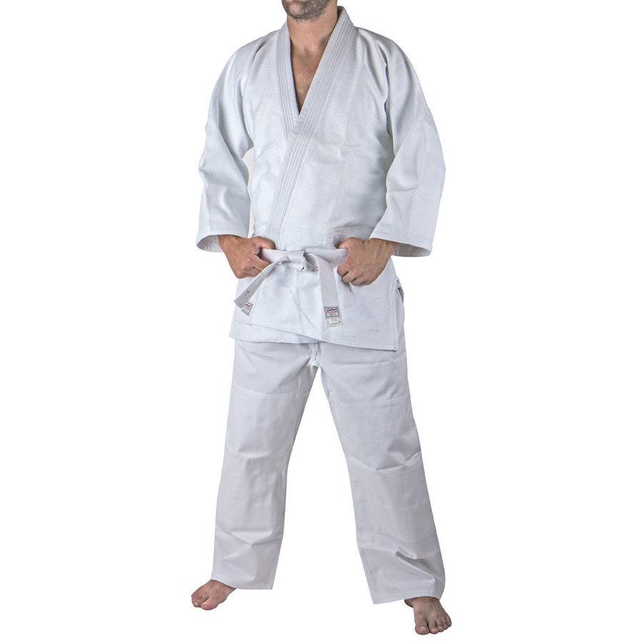 Bílé kimono na aikido Satori