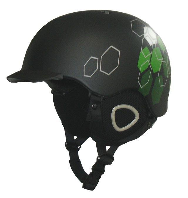 Černá lyžařská helma Brother
