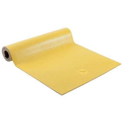Žlutá podložka na cvičení Domyos - tloušťka 0,7 cm
