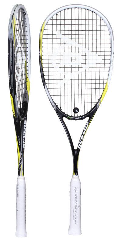 Raketa na squash Biomimetic II Ultimate, Dunlop