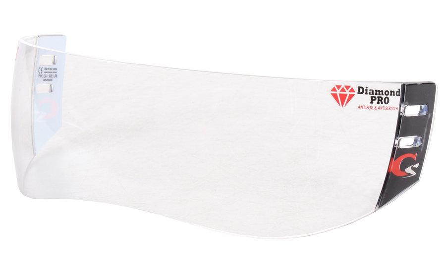 Plexi na hokejovou helmu - CarbonSpeed CS-3 Box plexi