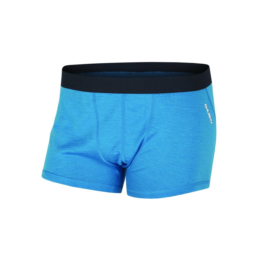 Modré pánské boxerky Husky - velikost XL - 1 ks