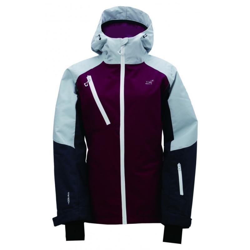 Fialovo-modrá dámská lyžařská bunda 2117 of Sweden - velikost 34