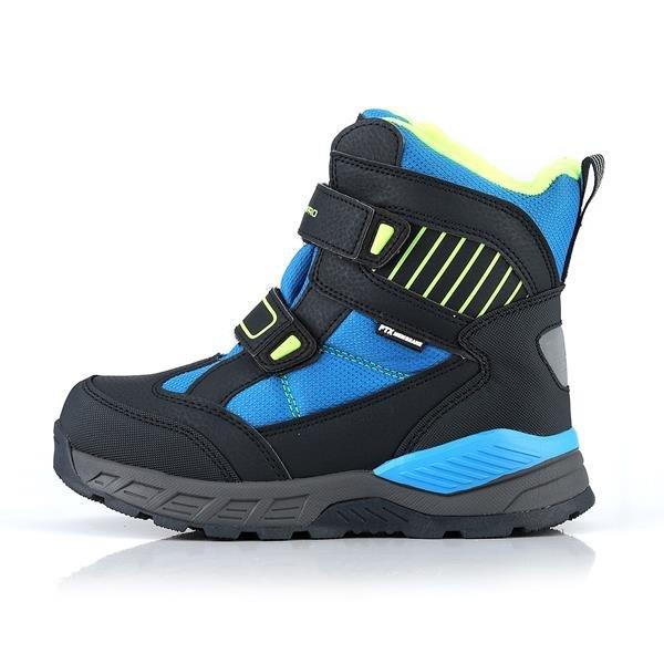 Černo-modré dětské zimní boty Alpine Pro - velikost 33 EU