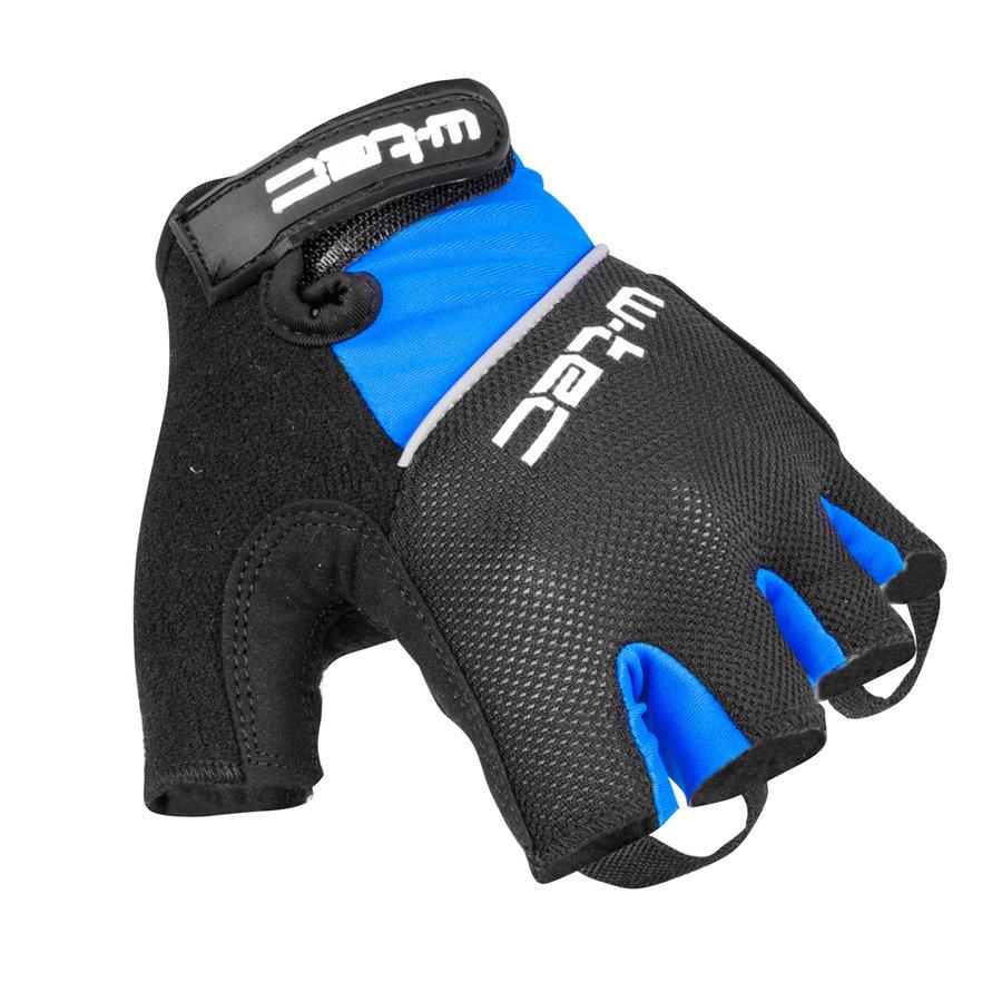 Černo-modré pánské cyklistické rukavice Bravoj AMC-1018-15, W-TEC