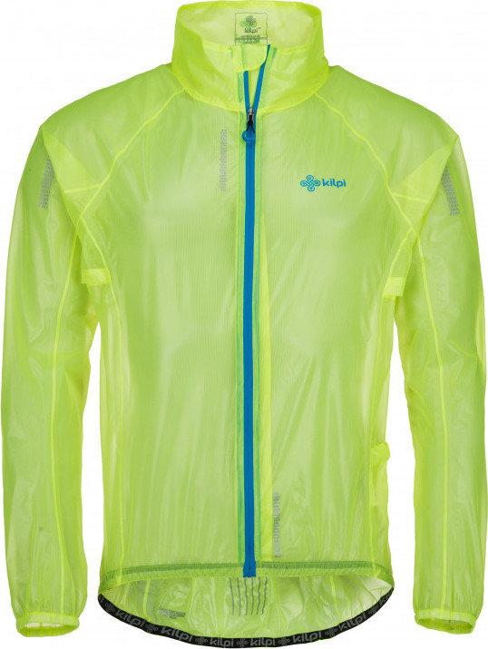 Žlutá pánská cyklistická bunda Kilpi - velikost S