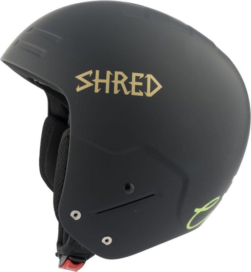 Černá dámská helma na snowboard Shred - velikost S