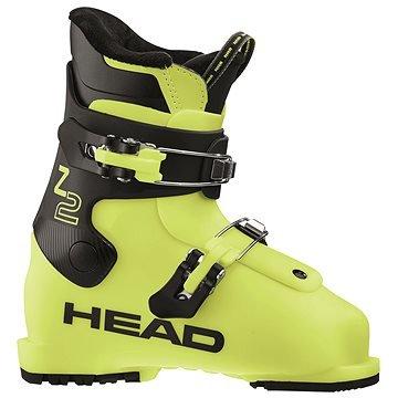 Žluté dětské lyžařské boty Head - velikost vnitřní stélky 19,5 cm