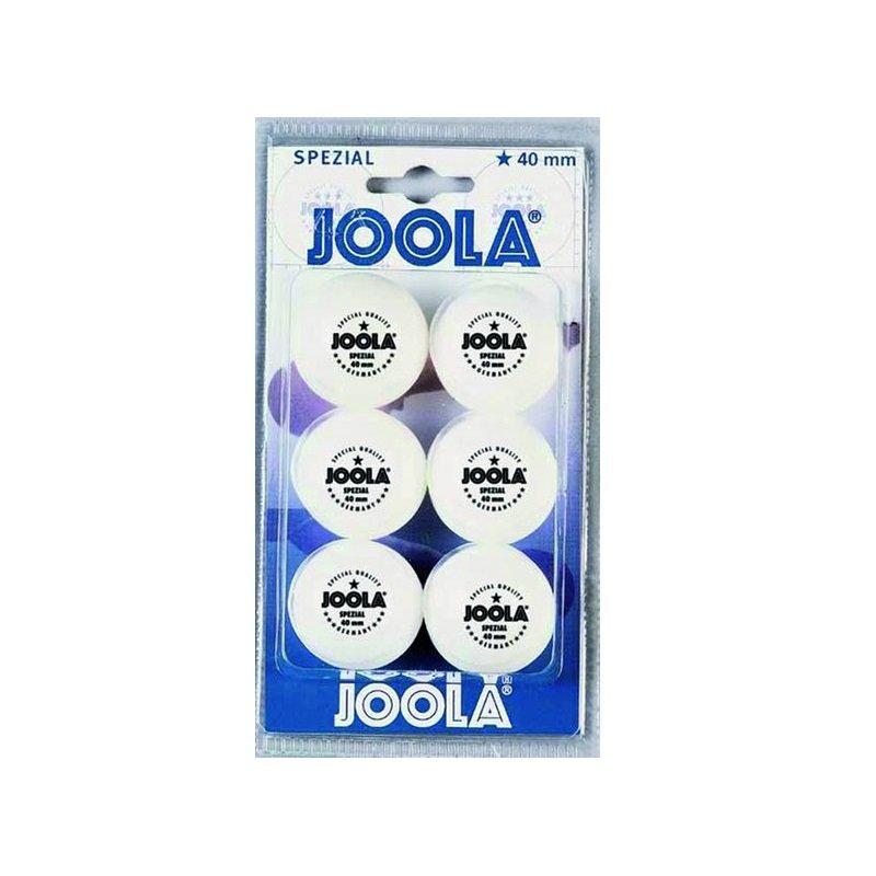 Bílý míček na stolní tenis Joola - 6 ks