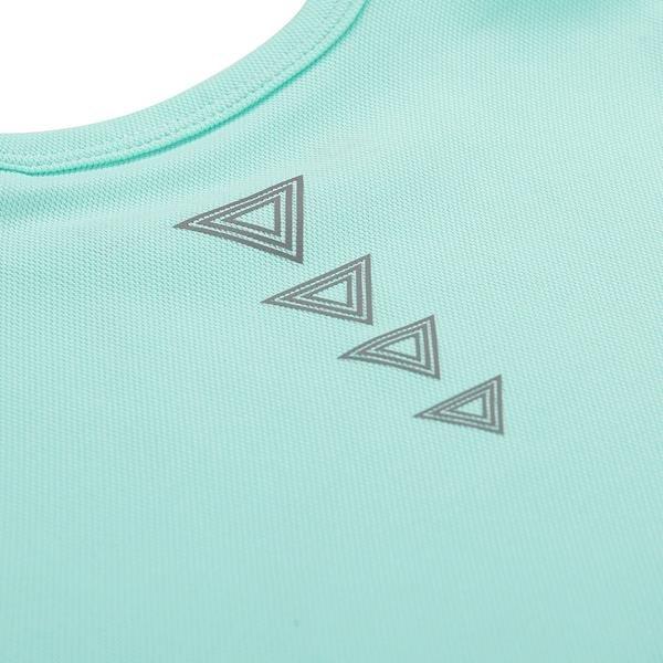Zelené dětské tričko s krátkým rukávem Alpine Pro - velikost 104-110