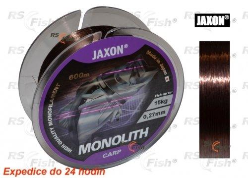 Rybářský vlasec - Jaxon® Vlasec Jaxon Monolith Carp 0,300 mm