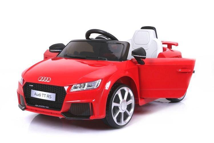 Červené dětské elektrické autíčko Audi TT, Beneo