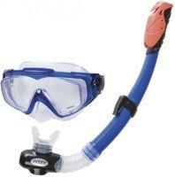 Modrá potápěčská sada Aqua, INTEX potápěčské brýle, šnorchl
