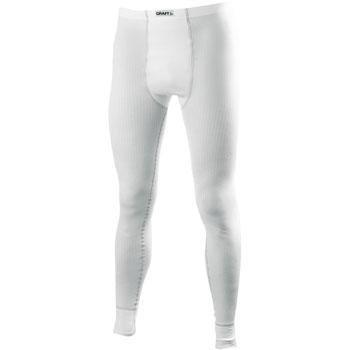 Bílé pánské funkční kalhoty Craft - velikost M