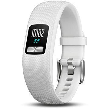 Bílý fitness náramek VivoFit 4, Garmin